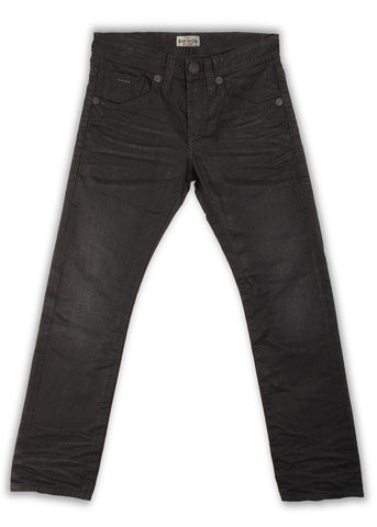 163-174M Jaguar Black Jeans - Rivet De Cru Jeans - Premium Denim - Mens Fashion - Mens Clothing - Mens Jeans - Mens Denim - 1