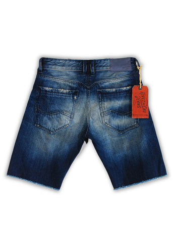 1TS-005MB Lime Cream Shorts(Bigs) - Rivet De Cru Jeans - Premium Denim - 2