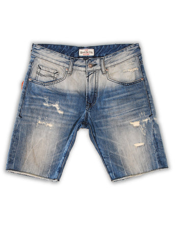 1TS-064MB Sky Dream Shorts(Bigs) - Rivet De Cru Jeans - Premium Denim - 1