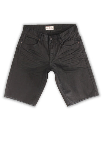 1TS-174 black Shorts - Rivet De Cru Jeans - Premium Denim