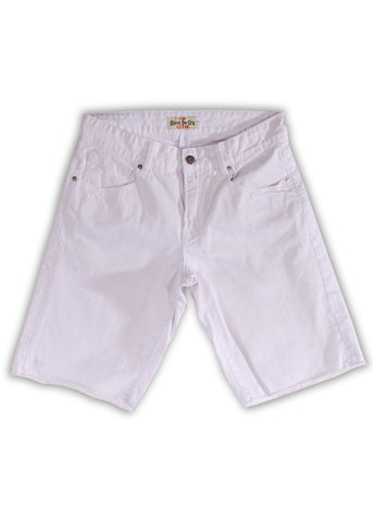 1TS-176MB Snow White Shorts(Bigs) - Rivet De Cru Jeans - Premium Denim