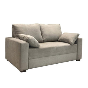 Compact - cream 2 seat sofa Bed