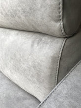 grey  fabric close up sofa bed