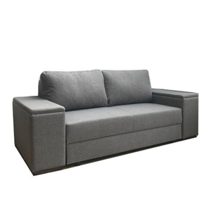 grey fabric storage Sofa beds