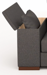 sofa bed storage arm