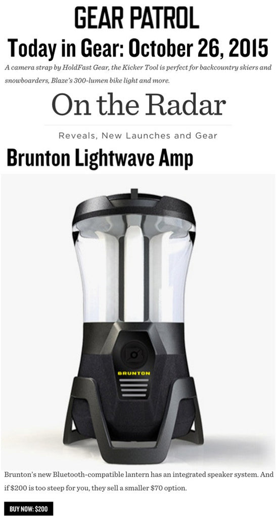Gear Patrol - Lightwave Amp On The Radar