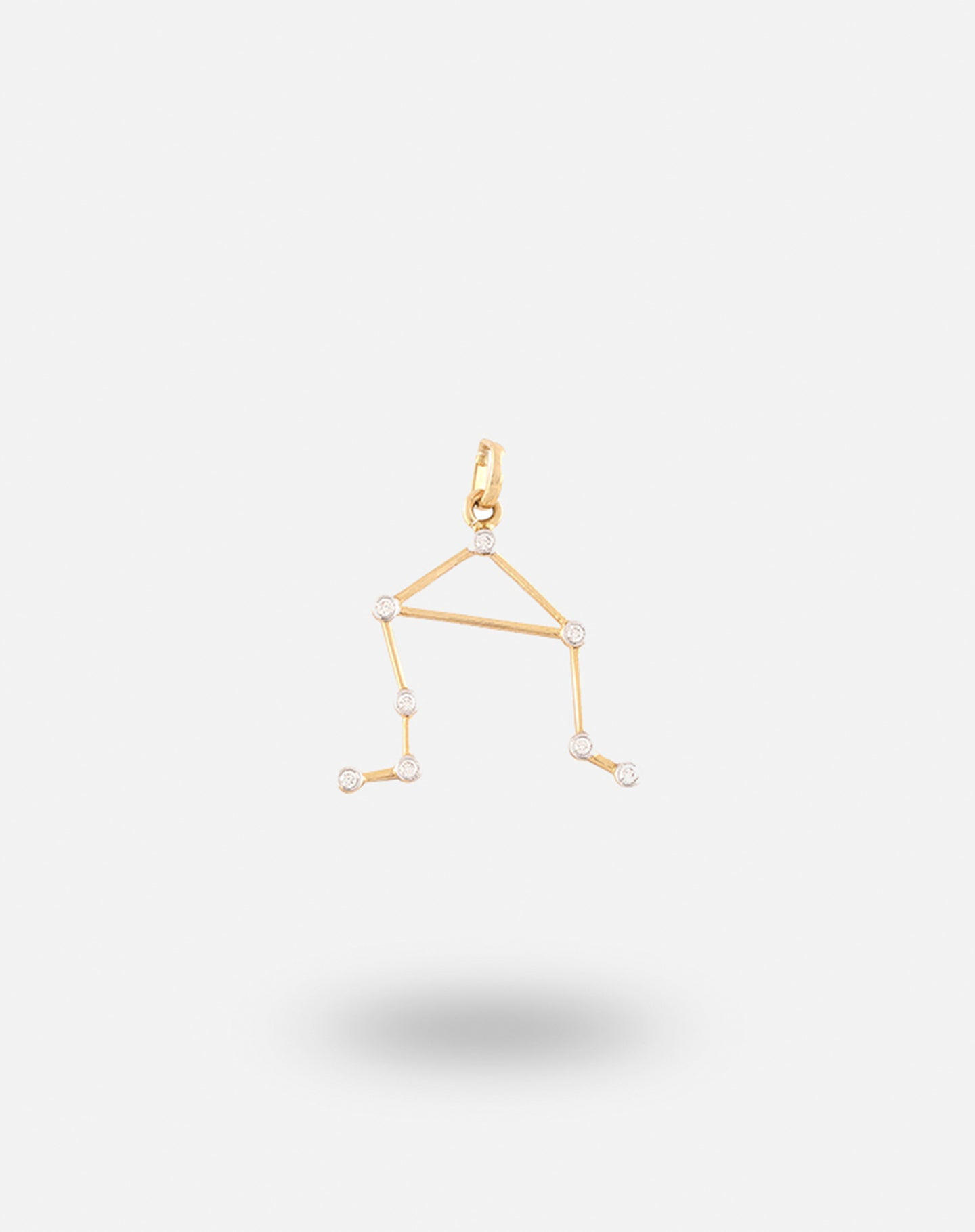 Gold Constellation Charm Libra
