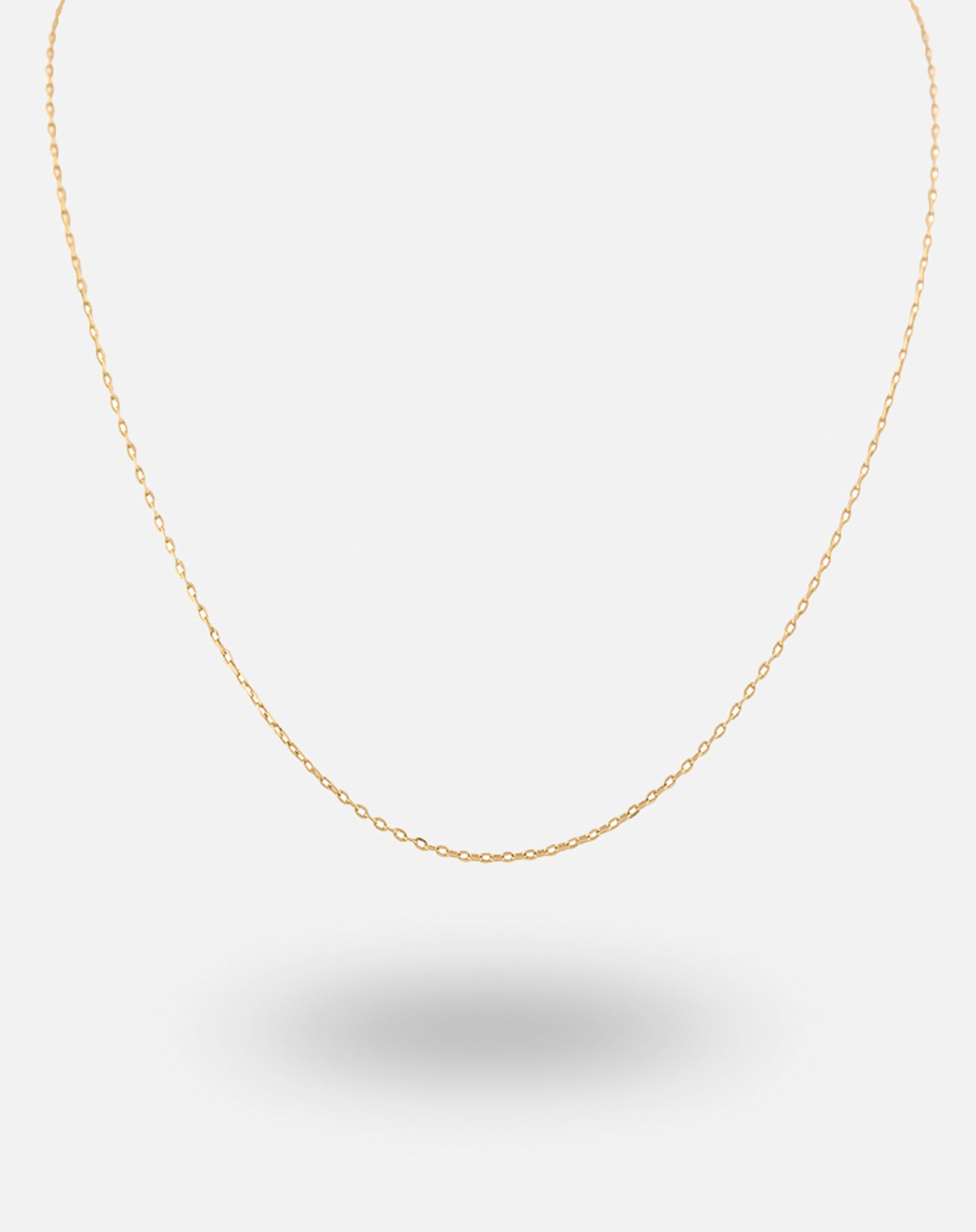 Gold Charm Simple Chain