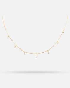 DOTM Short Diamond Necklace