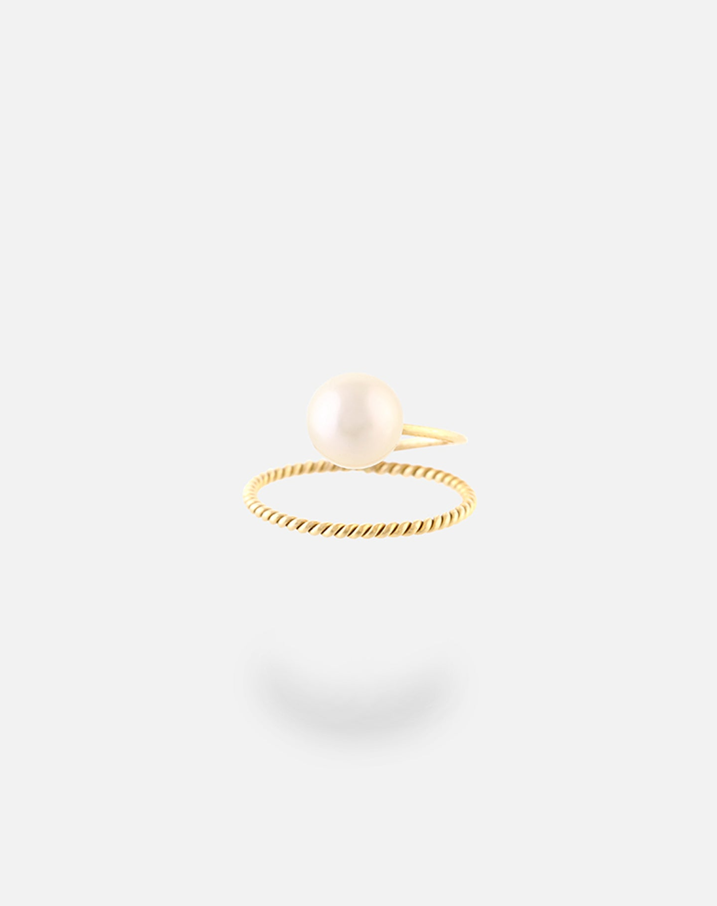 18Kt Gold Pearl Ring