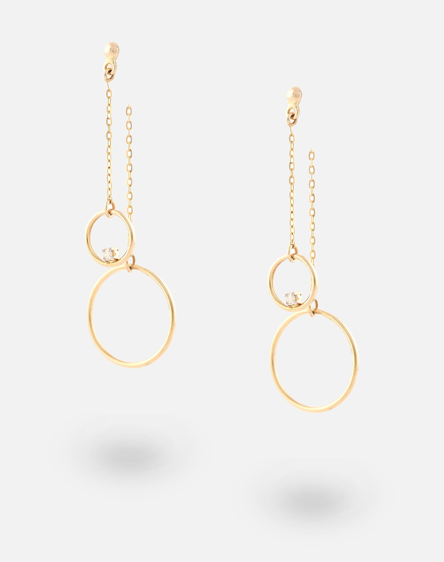 ThreeSixty One Up-down Long Earrings