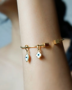 Evil Eye Charm - Marquise Small