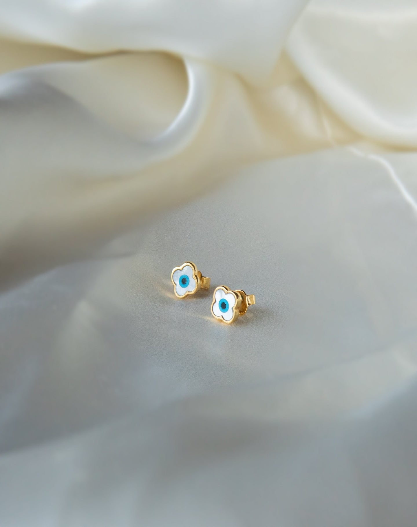 Mini Clover Stud Earrings