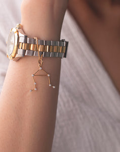 Constellation Watch Charm Libra