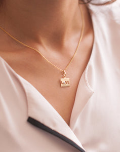 Love Charm For Necklace