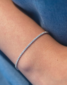 One Liner Diamond Bracelet