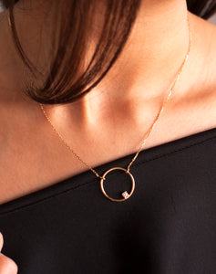 18kt Gold ThreeSixty One Necklace
