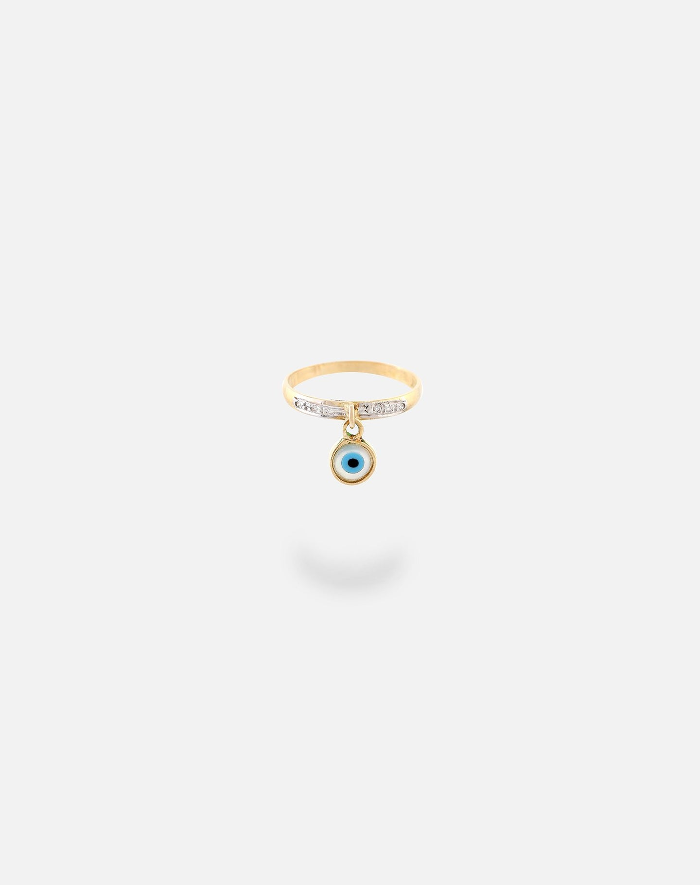 Evil Eye Ring Gold