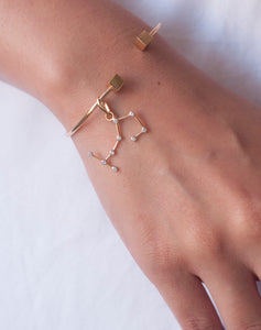 Gold Constellation Charm - Scorpio
