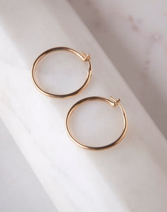 Classic Simple Tube Hoops