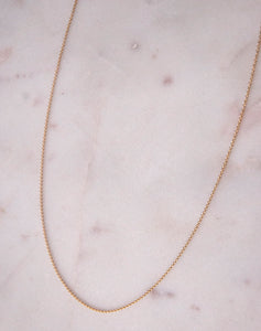 Charm Simple Chain Gold