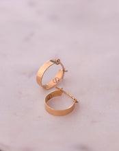 Load image into Gallery viewer, Gold Classic Mini Hoops