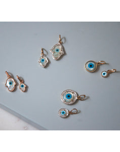 Evil Eye Charms - Hamsa Hand Small Collectionsc