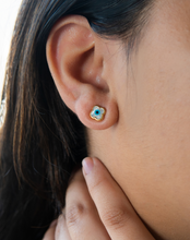Load image into Gallery viewer, Mini Clover Stud Earrings