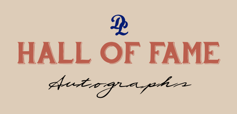 Hall of Fame Autographs