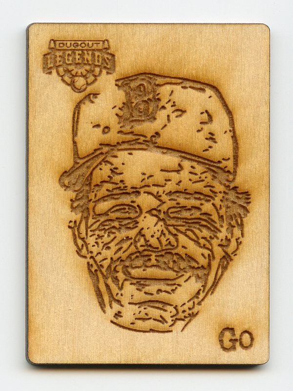 Wade Boggs Wood Engraving