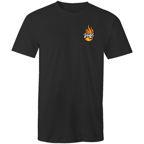 """Flames"" AS Colour Staple - Mens T-Shirt"