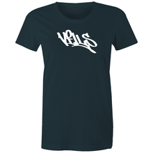 "Load image into Gallery viewer, ""Vills"" AS Colour - Women's Maple Tee"