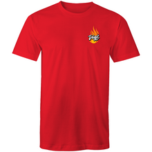 "Load image into Gallery viewer, ""Flames"" AS Colour Staple - Mens T-Shirt"