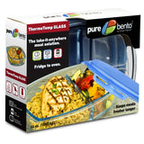 Pure Glass Bento Deluxe Meal Container