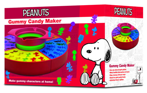 Peanuts Gummy Candy Maker
