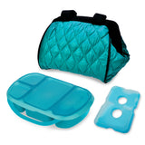 Portion Perfect 4 Piece Puffer Bag Set