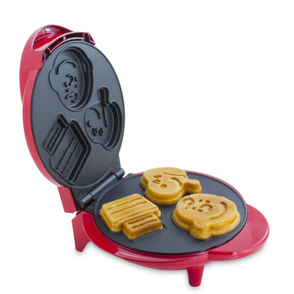 Snoopy & Charlie Brown Character Waffle Maker