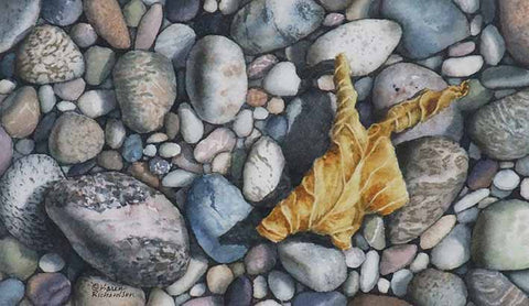 Autumn Memory, watercolour by Karen Richardson