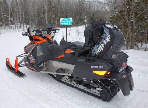 Our snowmobile