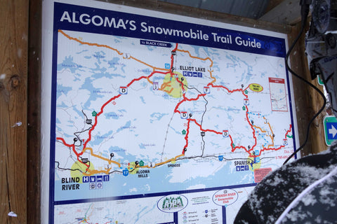 Algoma trail map