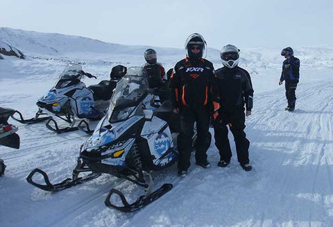 Richardson party on Baffin Island