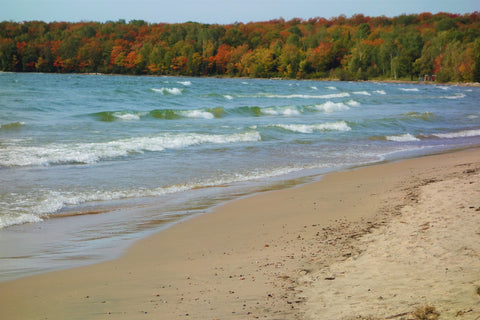 Batchawana Beach Lake Superior photo by Karen Richardson