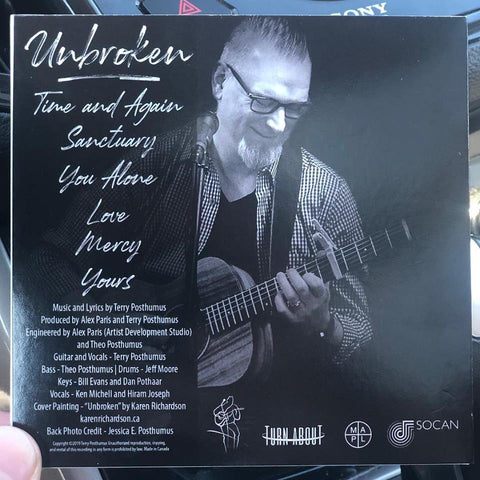 Unbroken CD by Terry Posthumus