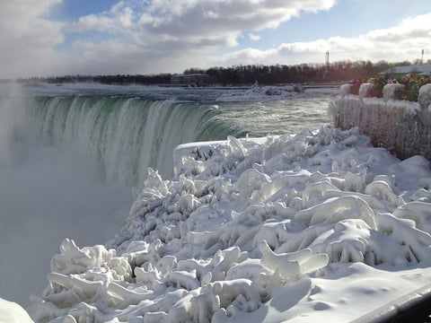 Canada's Horseshoe Falls at Niagara Falls. Photo by Karen Richardson