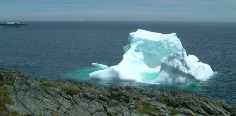 Iceberg in the Gulf of St. Lawrence NL photo by Karen Richardson