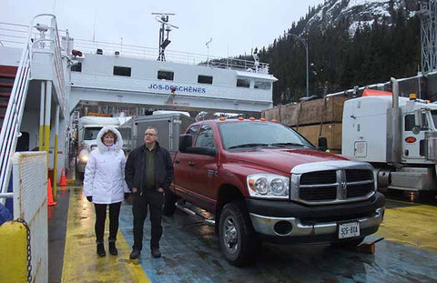 Saguenay River Ferry