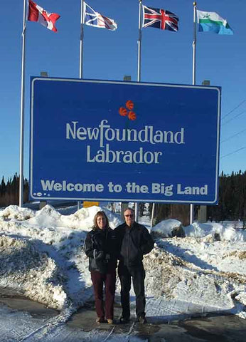 Karen and John reach Labrador