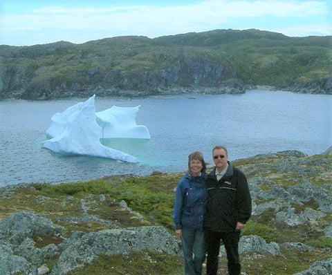 Karen Richardson in Newfoundland