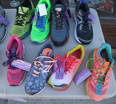 Photo of running shoes by Karen Richardson