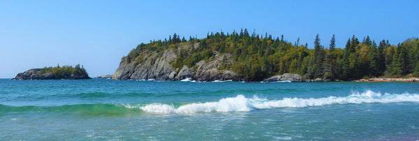 Horseshoe Bay in Pukaskwa National Park photo by Karen Richardson